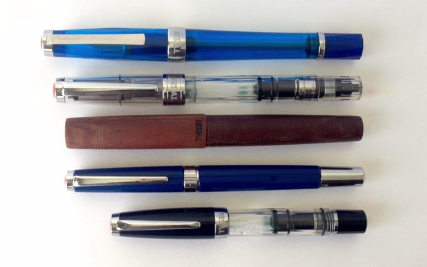 Twsbi Classic Fountain Pen Review The Nibsmith Parts Diagram Model Comparison