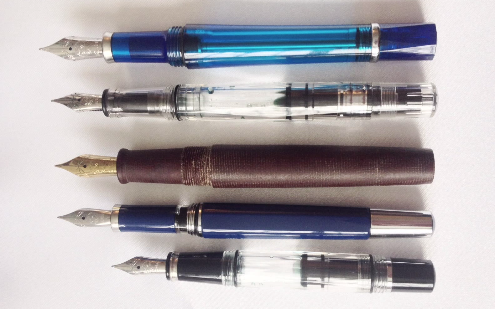 twsbi model comparison uncapped