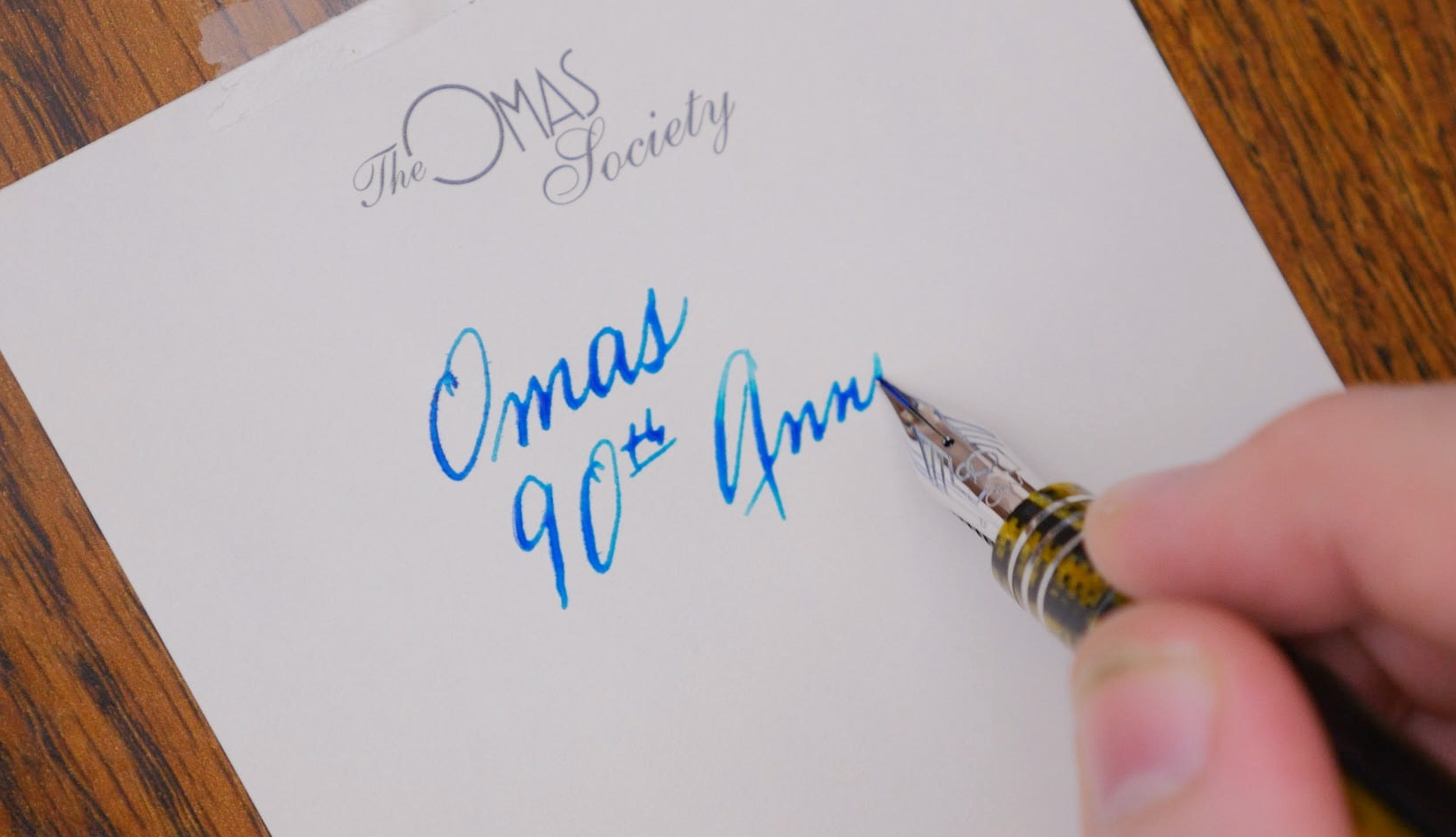 Omas Ogiva Burkina Fountain Pen Review