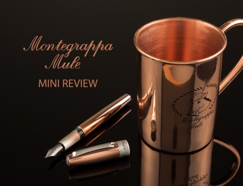 Montegrappa Mule Mini Review