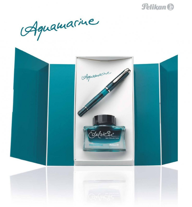 pelikan-m205-aquamarine-gift-set