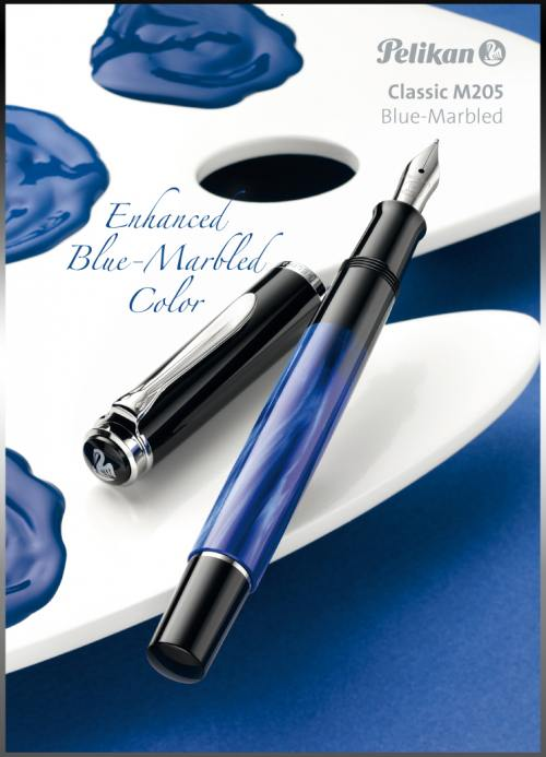 pelikan_m205_blue_marbled_fountain_pen