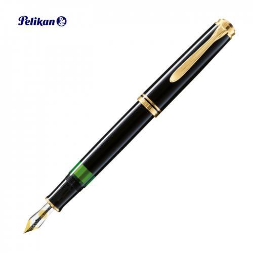 pelikan-m800-black-fountain-pen
