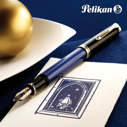 pelikan-m800-blue-stripe-fountain-pen