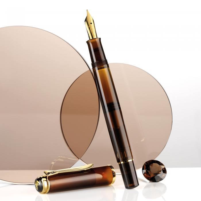 Pelikan_M200_Smoky_Quartz_fountain_pen