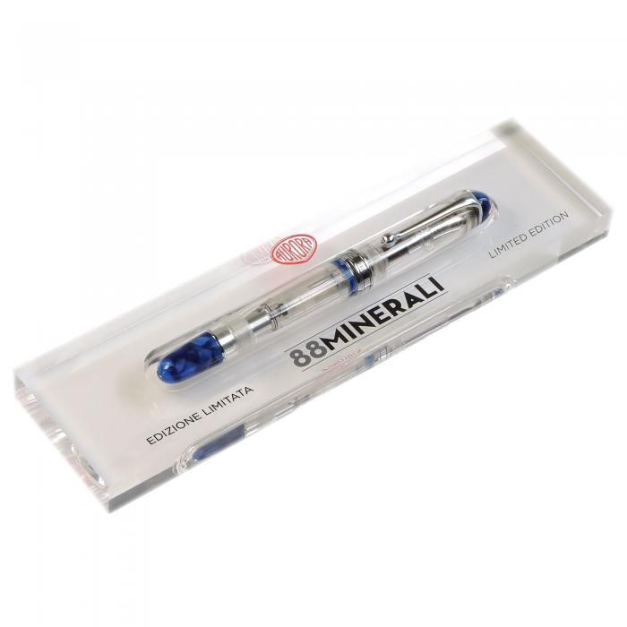 Aurora-88-Minerali-Azurite-Blue-Foutain-Pen