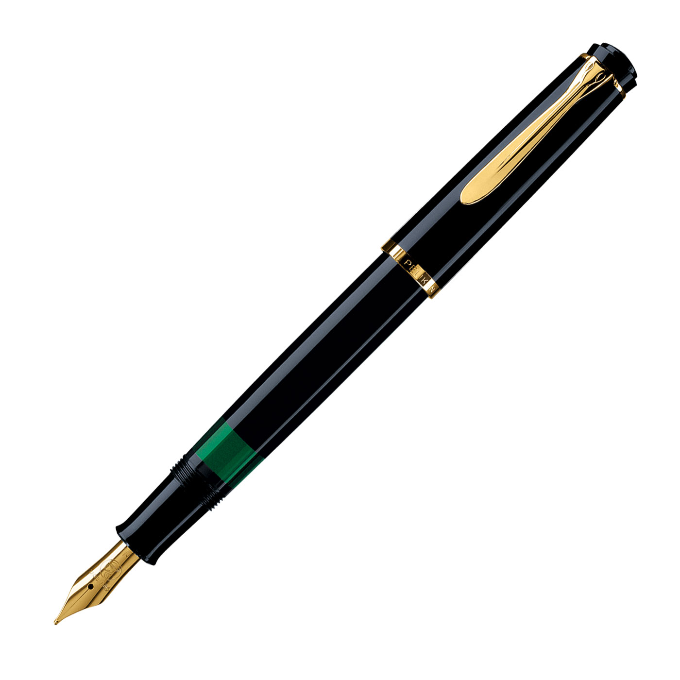 Pelikan-M200-Black-Fountain-Pen