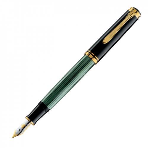 Pelikan-Souveran-M400-green-stripe