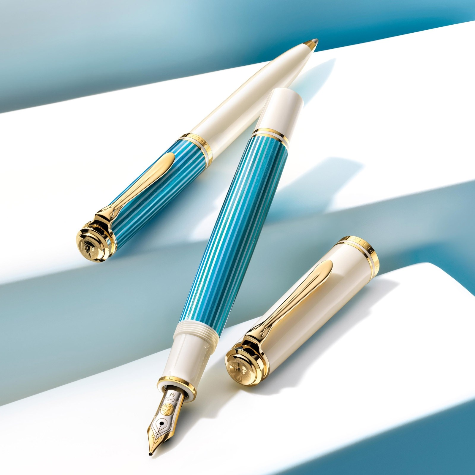 Pelikan M600 Special Edition Fountain Pen Turquoise