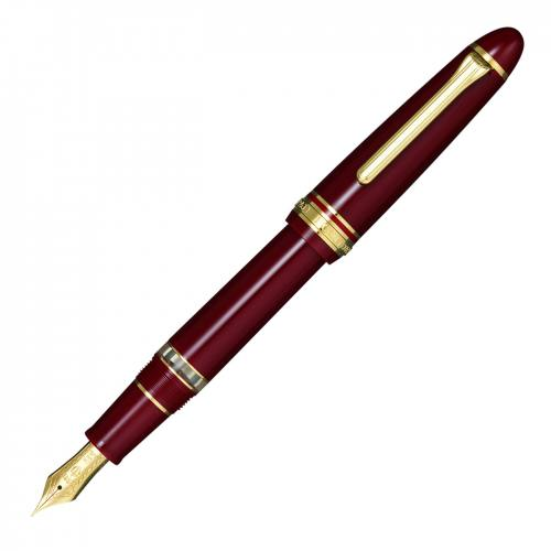 sailor_1911_large_realo_fountain_pen_maroon_gold_trim