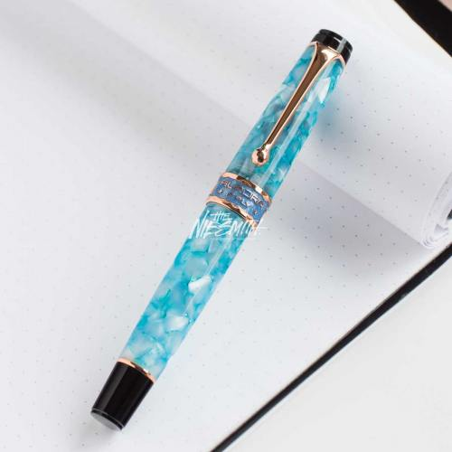 aurora optima sun moon lake sunset fountain pen nibsmith-4