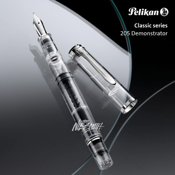 pelikan-classic_m205_demonstrator-fountain-pen-nibsmith-1