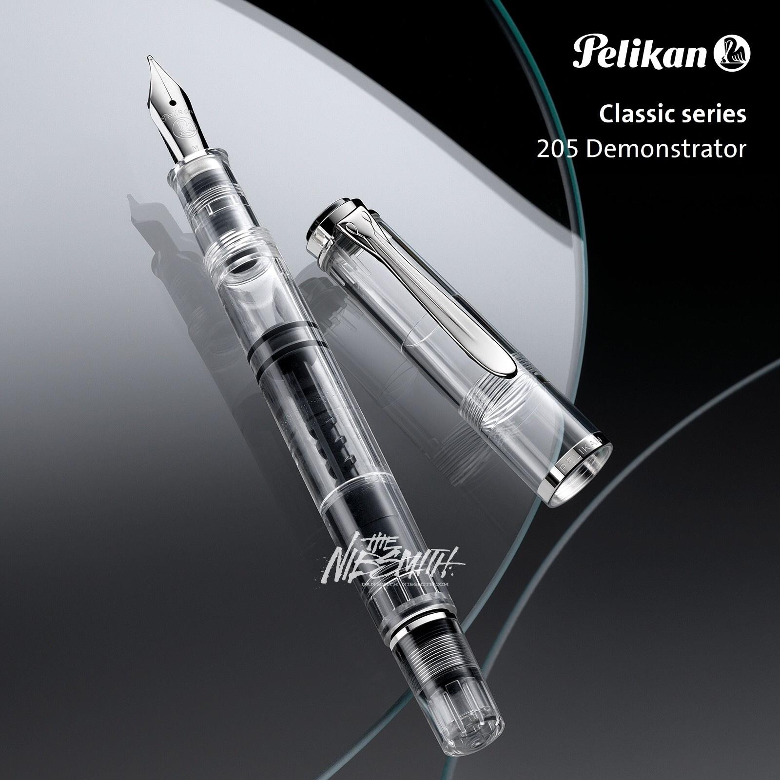 pelikan-classic_m205_demonstrator-fountain-pen-nibsmith-1