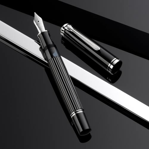 Pelikan M815 Metal Striped Special Edition Fountain Pen