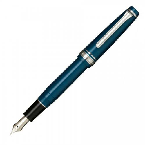 Sailor_Professional_Gear_Sapporo_Slim_Metallic_Blue_Fountain_Pen_11-1222-149