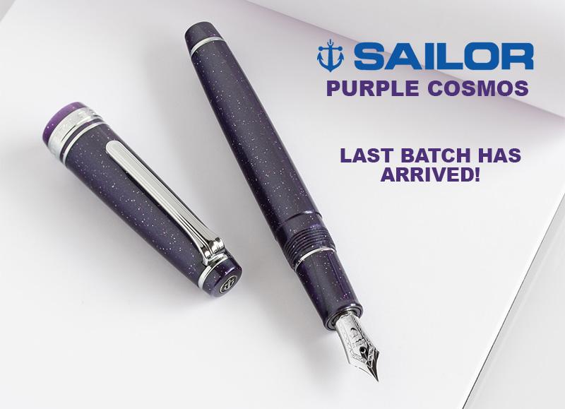 sailor purple cosmos pro gear slim