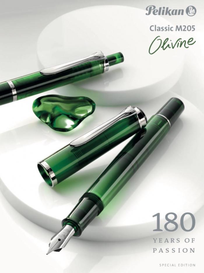 pelikan-m205-olivine-demo