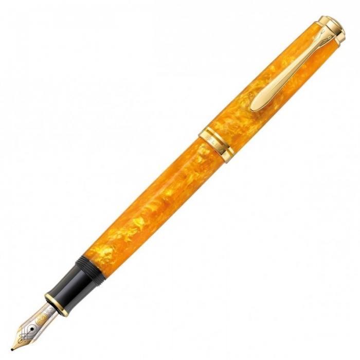 pelikan-m600-vibrant-orange-fountain-pen