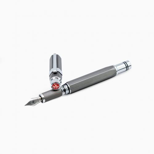 twsbi-precision-gun-metal-fountain-pen
