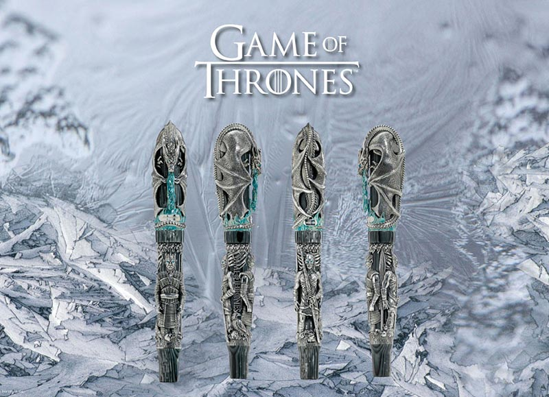 montegrappa games of thrones winter is here limited edition fountain pen