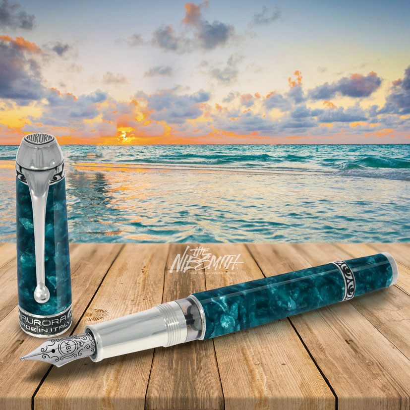 Aurora Oceano Pacifico Limited Edition Fountain Pen The Nibsmith