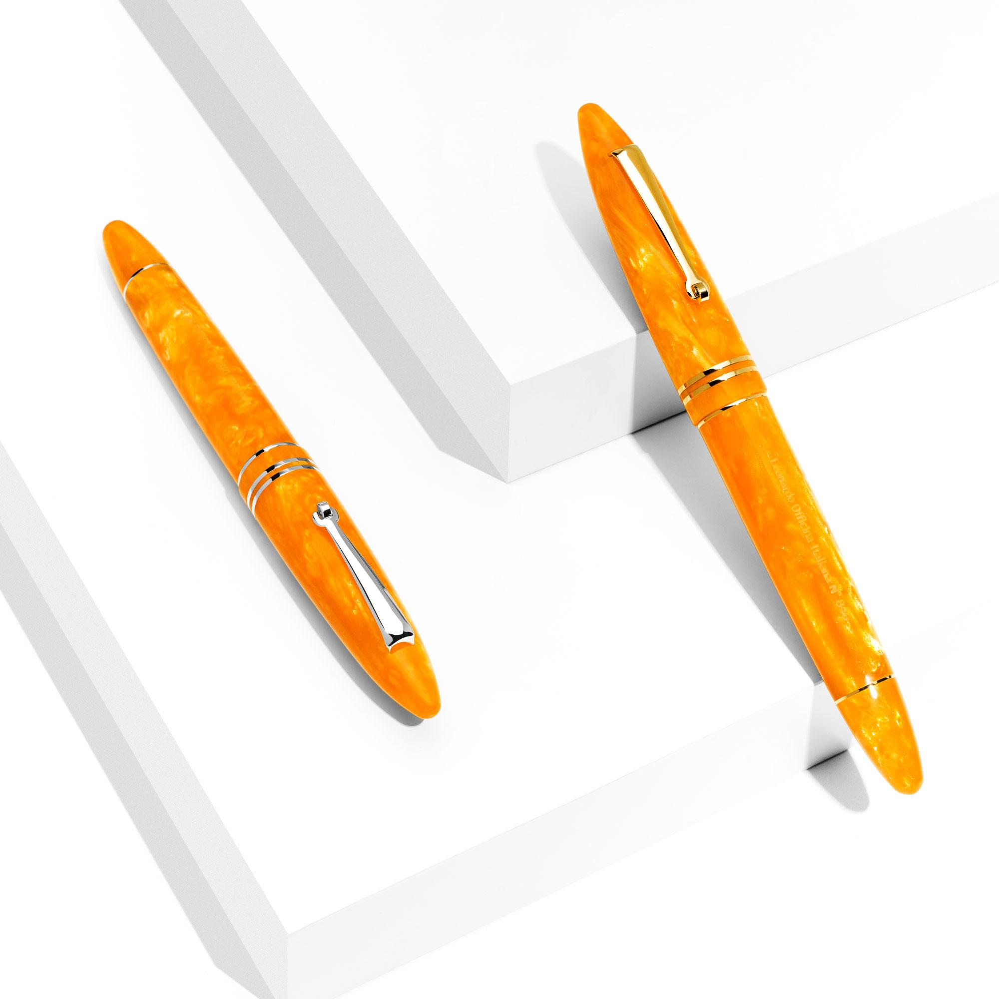 leonardo-furore-arancio-fountain-pens