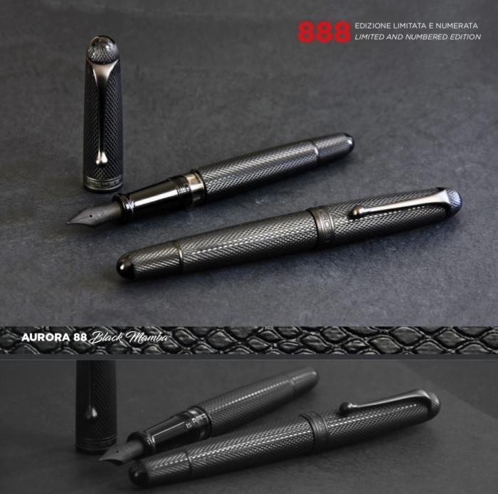 aurora-88-black-mamba-fountain-pen-nibsmith
