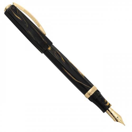 visconti-medici-golden-black-oversize-fountain-pen-nibsmith-1