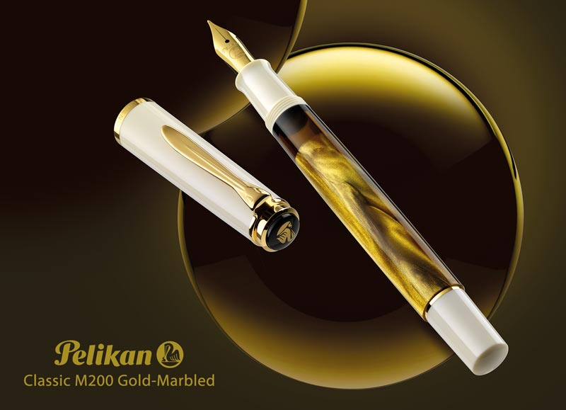 Pelikan-Classic-M200-Gold-Marbled-fountain-pen-nibsmith-slider-800x579