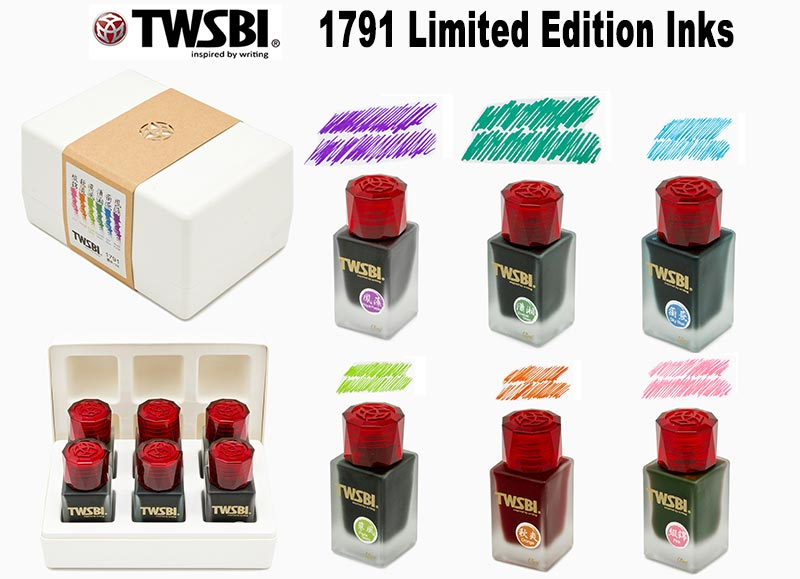 twsbi 1791 fountain pen inks